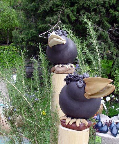 Gartendeko 32 Baupresse24 Jpg 410 495 Pixels Gartendeko In 2020 Tonkeramik Garten Deko Keramik