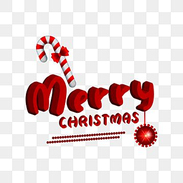 Merry Christmas 3d Text Effect With Candy Canes Card Background Celebration Png And Vector With Transparent Background For Free Download Merry Christmas Text Christmas Text Christmas Design