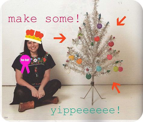Crocheted Christmas Baubles tutorial ♥