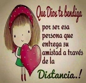Amigos En La Distancia Con Frases 300x291 Love Quotes For