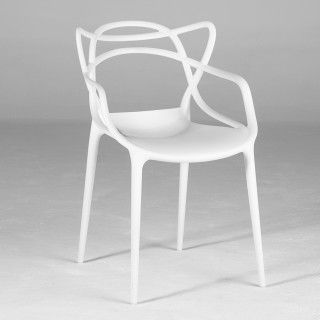 HD Buttercup modern white masters side chair. #HDButtercupxgoop