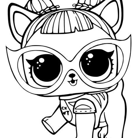 Lol Pets Coloring Pictures Printable Dibujos Colorear Ninos