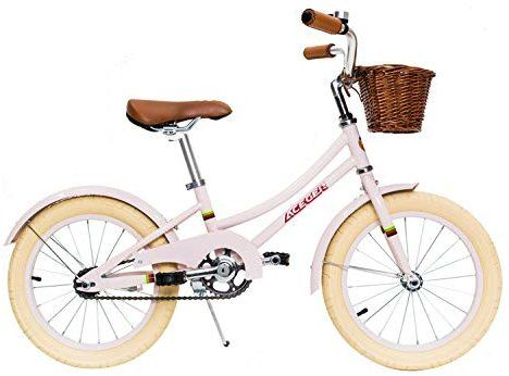 Amazon Com Aceger Kid S Bike For Girls With Basket 16 Inch With Kickstand And No Training Wheels Pink 1 In 2020 Best Kids Bike Kids Bike Bike With Training Wheels