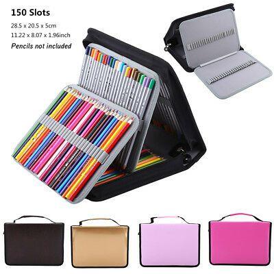 184 Slots Large Pencil Case Pen Bag Organizer Colored Foldable Storage Capacity