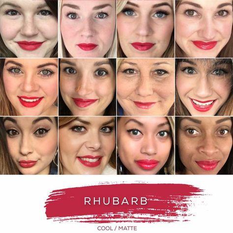 Rhubarb- Cool Tone, Matte Finish
