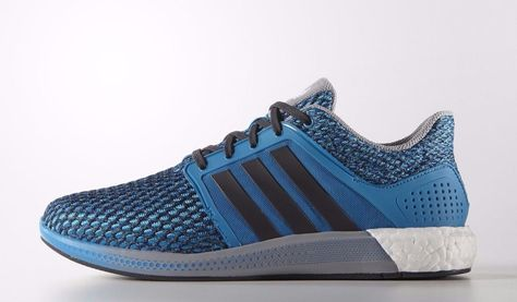 3106db1a7 Adidas Cosmic Boost Running Shoes Solar Blue Grey Ultra Men s Product S42177