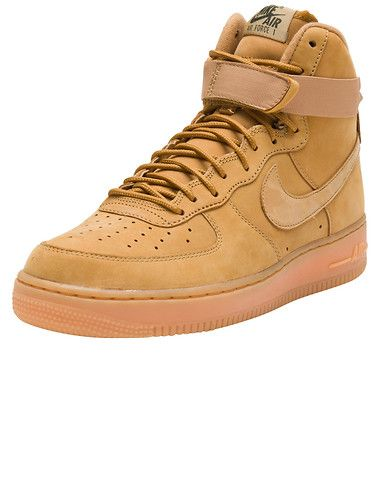 buy popular eb9bb 3f941 NIKE Air Force 1 High Flax Classic silhouette re imagined for the fall  Men s high top sneaker Color ... True to size. Synthetic Materials.