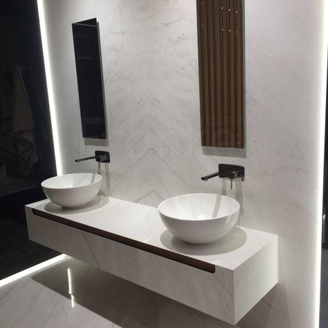Marmoroptik Von Porcelanosa Porcelanosa Venis Messe Cersaie Fliesen Tiles Bath Bad Badezimmer Waschtisch Mar Waschtisch Badezimmer Fliesen