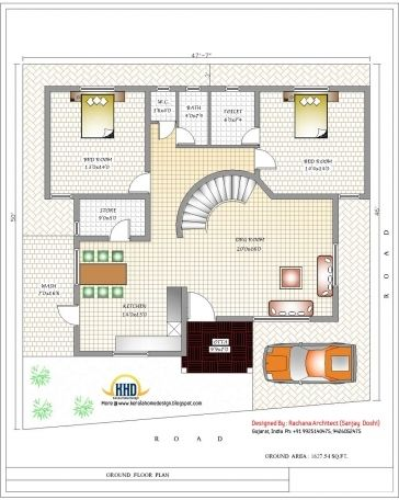Farmhouse Plans Indian Style Some Possess The Natural Born Ability While Many Others Take The Ti Home Design Floor Plans Modern House Plans Floor Plan Design