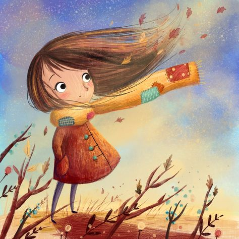 Windy Day Lucy's Illustrations (@IllustrateLucy) | Twitter