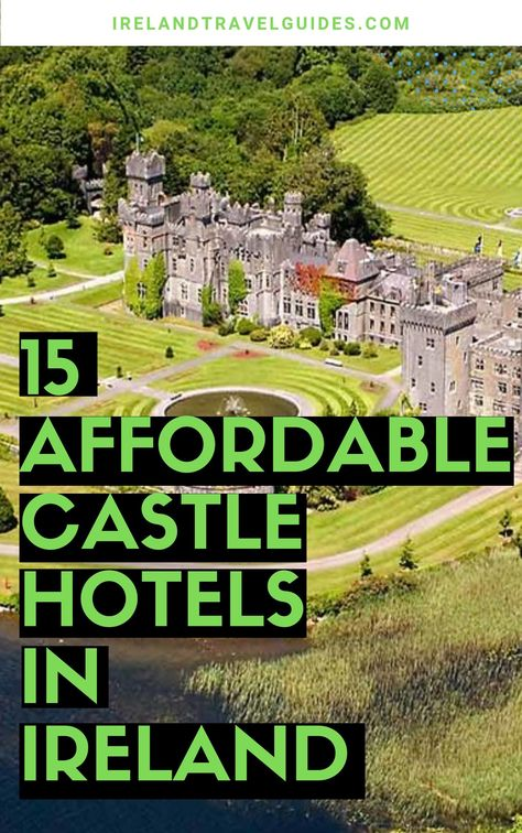 15 Affordable Castle Hotels In Ireland That Won t Break The Bank Ireland castles to stay in Ireland castles wedding Ireland travel Ireland travel tips Ireland travel destinations Ireland travel ideas Europe Destinations, Europe Travel Tips, European Travel, Places To Travel, Places To See, Budget Travel, Travel Diys, European Vacation, Travel Outfits