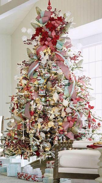 20 Adorable DIY Christmas Tree Decoration # #ChristmasTreeDecoration # #DIYCraft #DIYDecorating