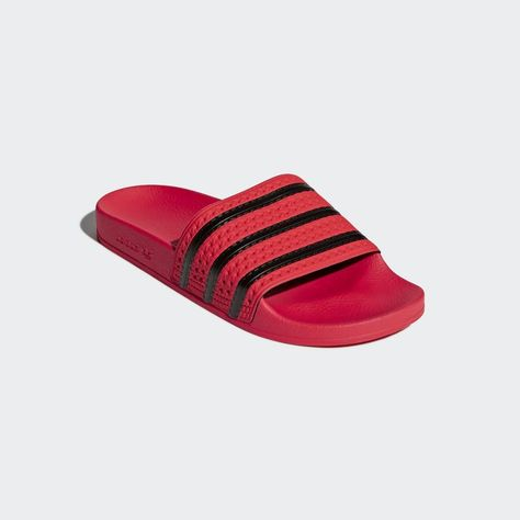 Adilette Slides Coral Pink 11 Mens | Adidas adilette, Gold ...