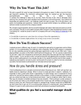 Tell Me About Yourself Interview Question Job Interview Answers