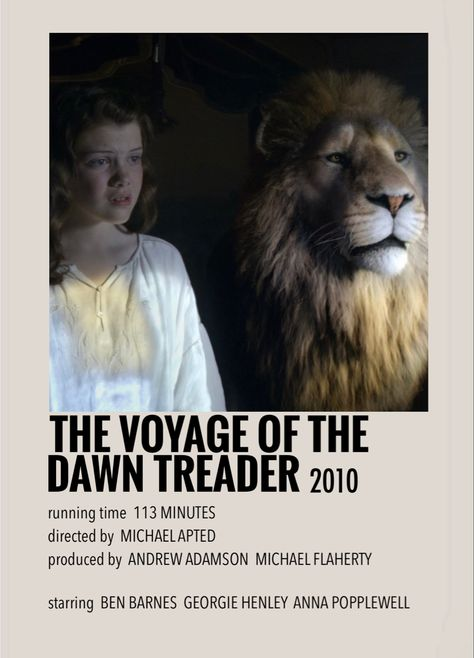 The voyage of the dawn treader by Millie