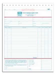 Automotive repair invoice form automotive repair shops pinterest fandeluxe Choice Image