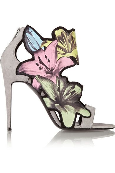 *.* Pierre Hardy heels (could even decorate your home with these...)