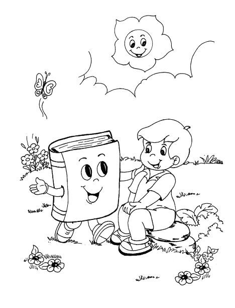 Dia Del Libro Dibujos Para Colorear Del 23 De Abril Con Imagenes