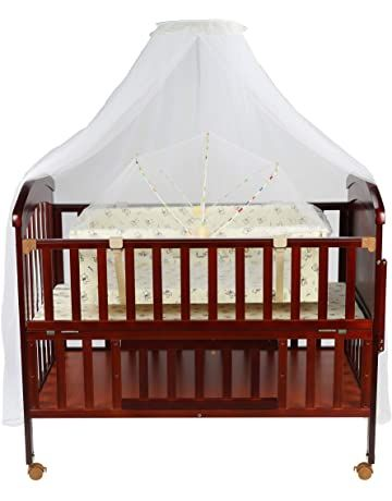 Luvlap C 80 Baby Wooden Cot With
