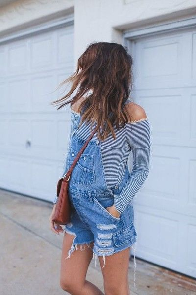Find some overalls - Trending on Pinterest: Sizzling Summer Maternity Looks - Photos