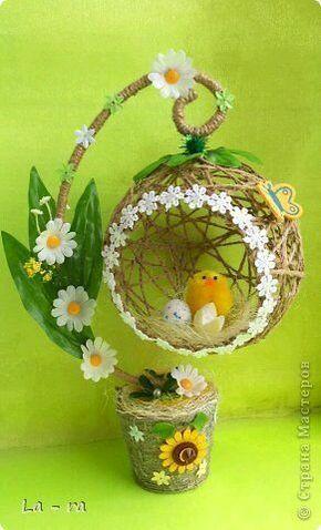 De plus en plus de métiers: Créez de belles décorations avec des sphères de fil - #avec #belles #créez #de #décorations #des #en #fil #Métiers #sphères