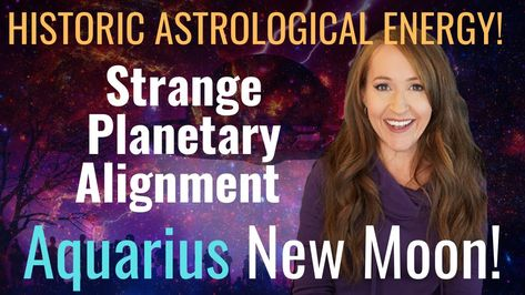 THE REVOLUTION IS HERE! 🌅 New Moon in Aquarius—Strange Stellium! Weekly Forecast For ALL 12 SIGNS!