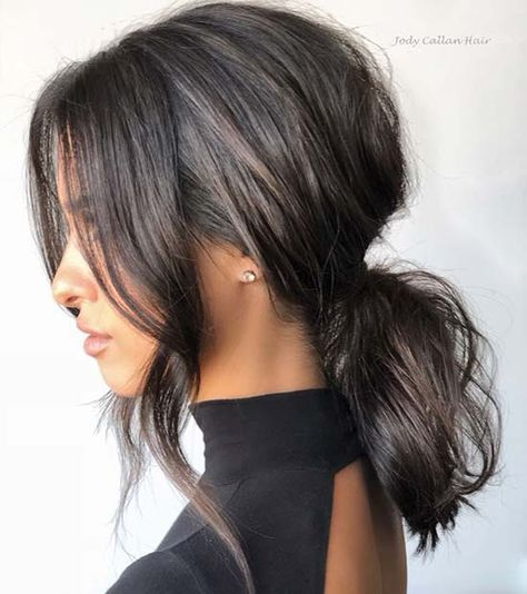 Looking for the perfect hairstyle for prom? To help you get inspired, we have found 63 of the most stunning prom hair ideas. Medium Hair Ponytail, Messy Ponytail Hairstyles, Formal Hairstyles For Long Hair, Wedding Hairstyles, Cool Hairstyles, Ponytails For Short Hair, Weave Hairstyles, Ponytail Bridal Hair, Formal Ponytail