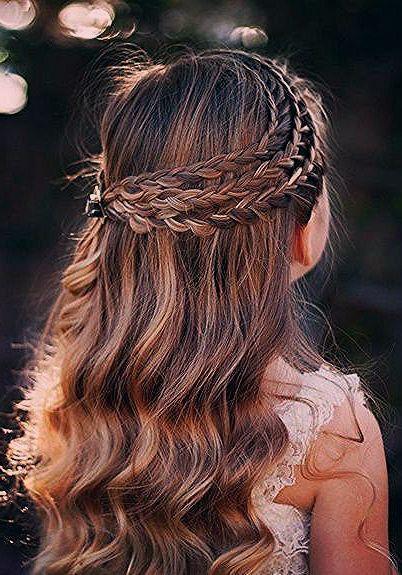 Festliche Frisuren Firmung Frisuren Firmung Hair Styles Hair Trends Curly Girl Hairstyles