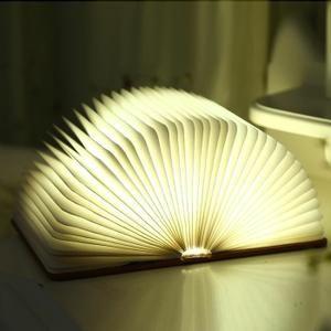 Lampe De Chevet Creative Lampe De Lecture Pliante Led Usb Rechargeable Decoratif Quatre Couleurs Lumiere Lampe De Lecture Lampe De Chevet Et Lampe Puissante