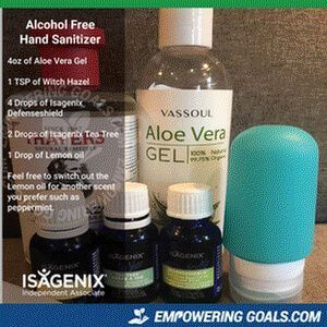 Diy Hand Sanitizer Includes An Alcohol Free Recipe Also Hand