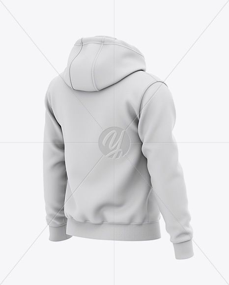 Download Men S Pullover Hoodie Back Half Side View Of Hooded Sweatshirt In Apparel Mockups On Yellow Images Object Mockups Hoodies Men Pullover Hoodie Mockup Clothing Mockup