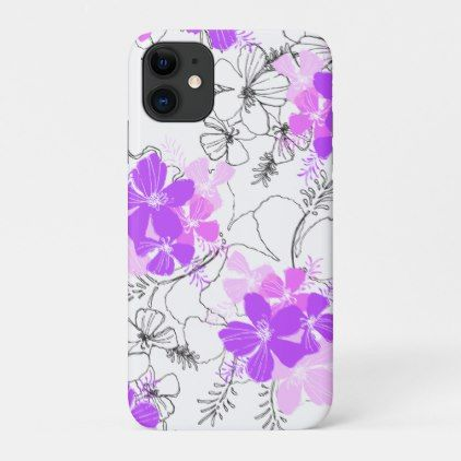 Midnight Floral iphone 11 case