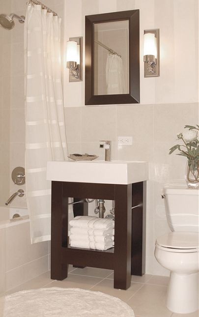 Small Bathroom Secrets How To Pick The Right Vanity Small Bathroom Vanities Small Bathroom Sinks Small Bathroom Sink Cabinet