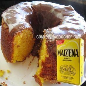 Bolo De Cenoura Com Maizena Receita Guloseima Bolo Food