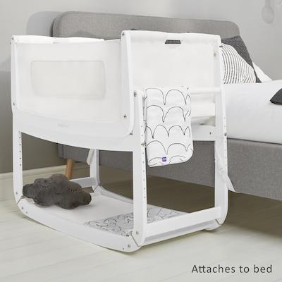 Bedside Crib Advantages Every Parent Should Know Snuzpod 3 Bedside Crib In White Modern Baby Cots Scandiborn Usa Bedside Crib Cribs Bedside Bassinet