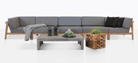 Outdoor Teak Deep Seating Furniture