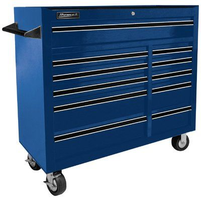16 W 4 Drawer Tool Chest Rolling