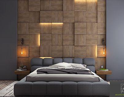 Mens Apartment Modern Bedroom Furniture Dark Colors And Master