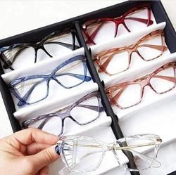 Oculos Armacao De Grau Feminino Transparente Cristal Em 2020