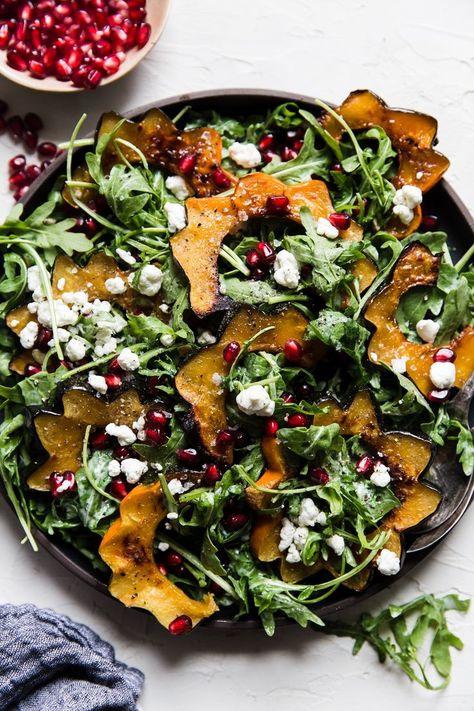 Maple Roasted Squash Salad | The Modern Proper