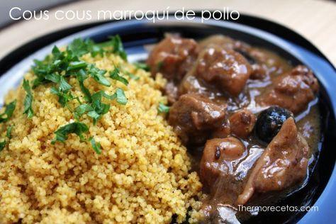 Cous Cous Marroquí Con Pollo Recetas Thermomix Receta Recetas Marroquíes Recetas Para Cocinar Recetas Thermomix