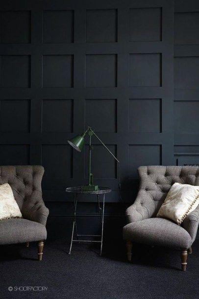 Best Living Room Ideas With Black Walls 13 Master Bedroom Remodel House Interior Black Walls