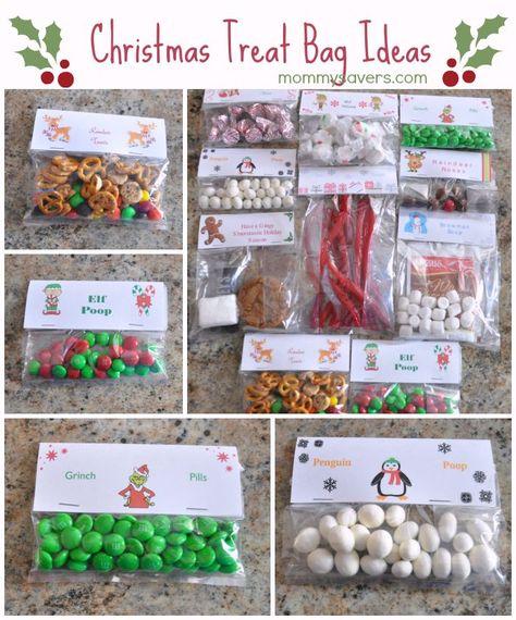 Christmas Treat Bag Ideas: Ten Creative Examples - Mommysavers.com   Online Coupons & Savings