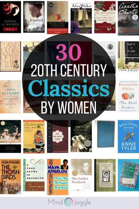 30 Twentieth Century Classic Books by Women for Your Reading Bucket List