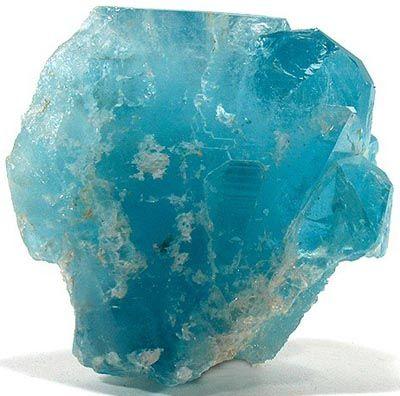 Blue Topaz Crystals Topaz Minerals And Gemstones