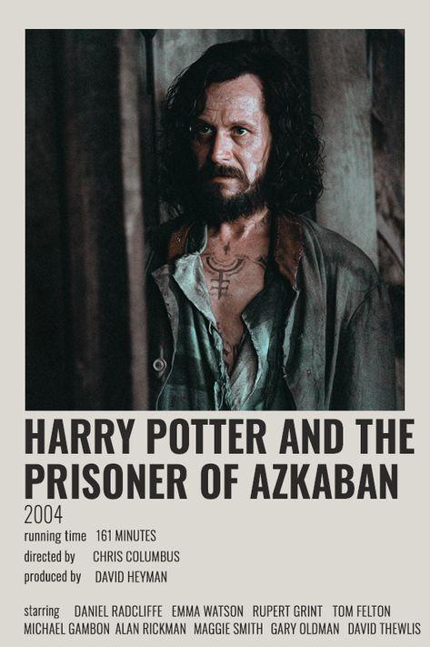 HARRY POTTER AND THE PRISONER OF AZKABAN POLAROID POSTER