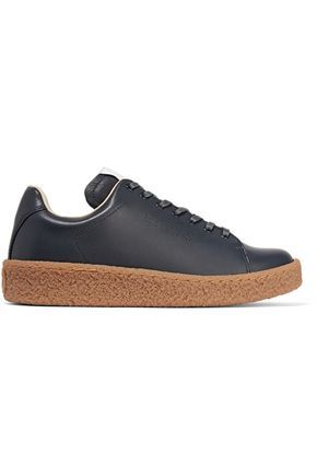 Ace leather platform sneakers #Shoes
