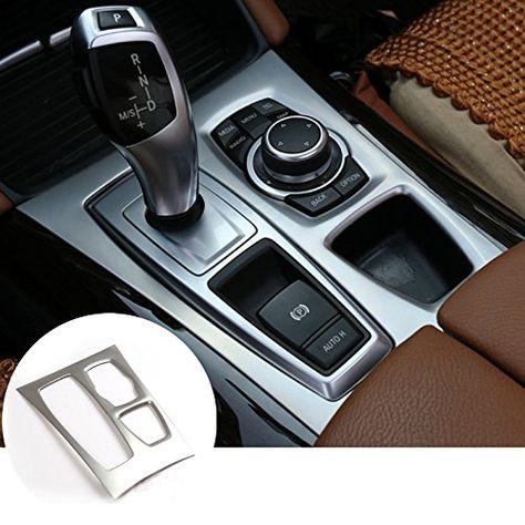 Interior Car Gear Box Panel Cover Trim For BMW X5 E70 201