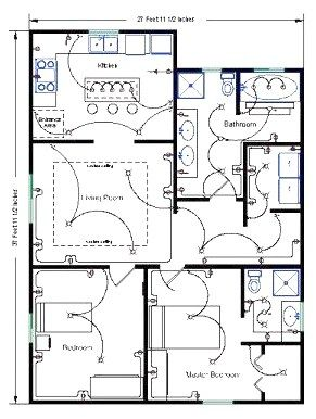 Residential Wire Pro Draw Detailed Electrical Floor ... on residential lightning protection, residential plumbing parts, residential wiring diagrams and schematics, residential wiring circuits, residential wiring rough floors, residential house wiring, residential wiring for home offices, residential room circuit diagrams, residential meter, residential chain link fence, residential electric box wiring, residential circuit breakers,