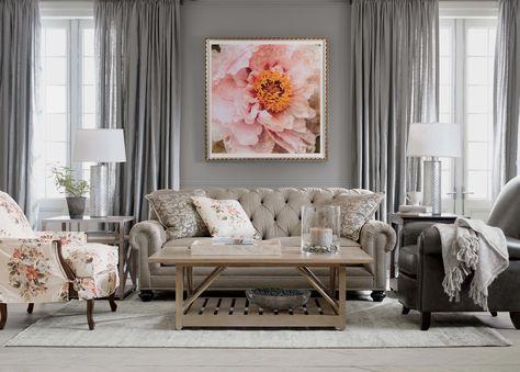 Sitting Pretty Living Room   SHOP ETHAN ALLEN OMAHA NOW!